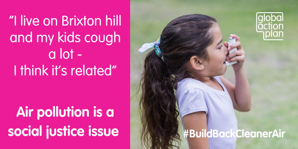 I live on Brixton Hill and my kids cough a lot - I think it's related