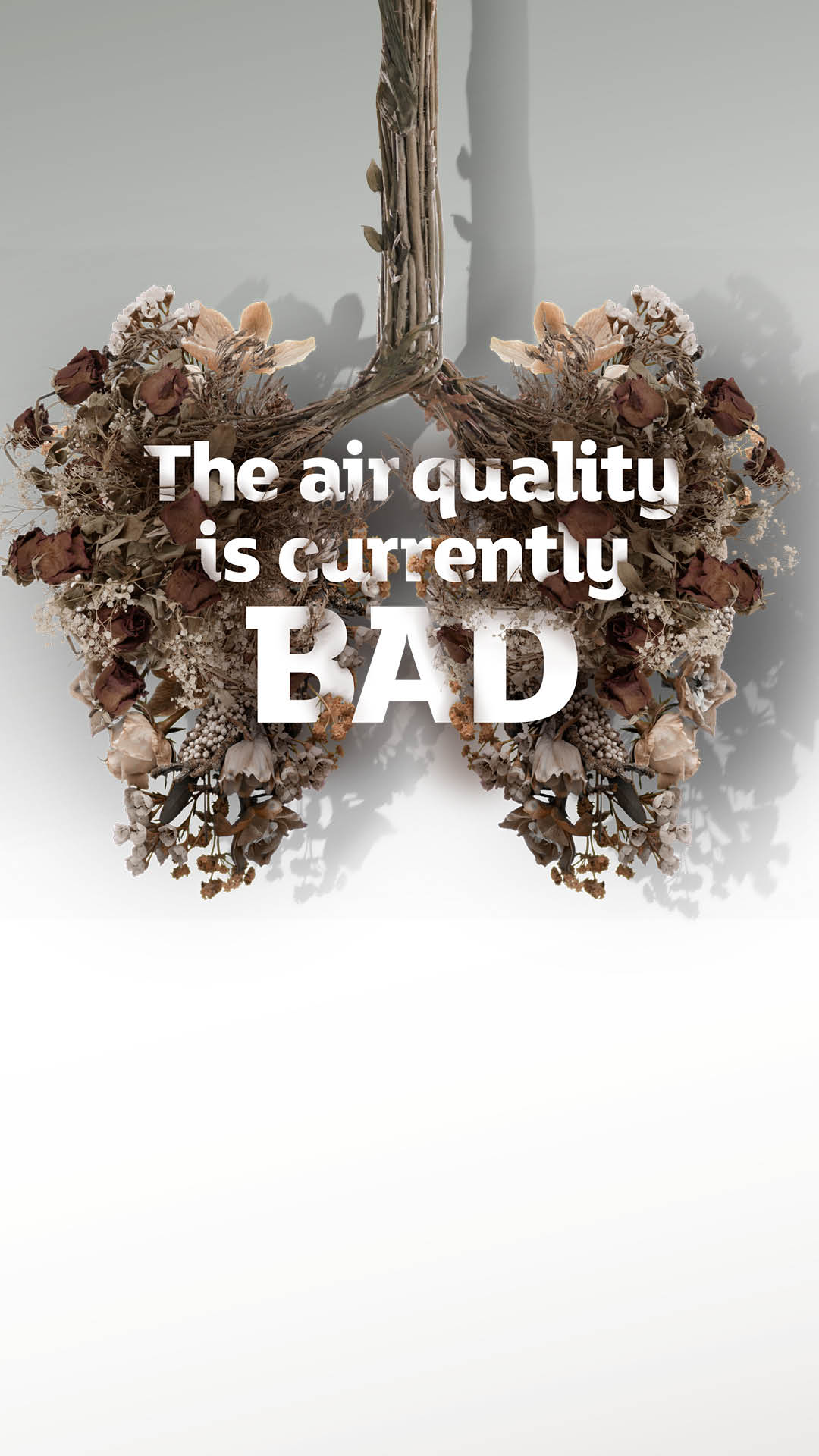 Stories, bad air quality