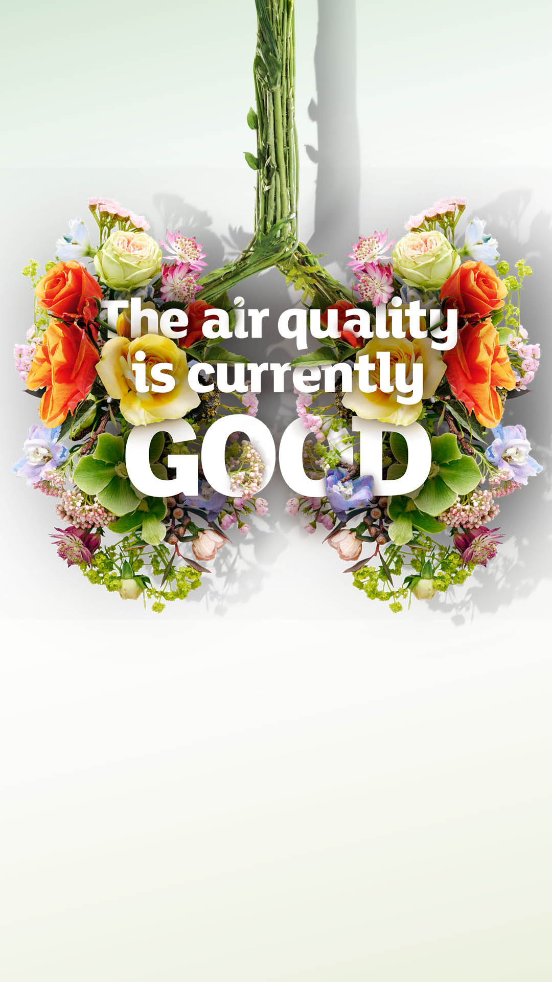 Stories, good air quality