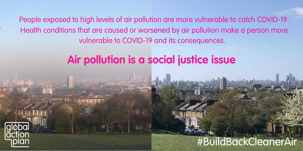 People exposed to high levels of air pollution are more vulnerable to catch COVID-19. Health conditions that are caused or worsened by air pollution make a person more vulnerable to COVID-19 and its consequences