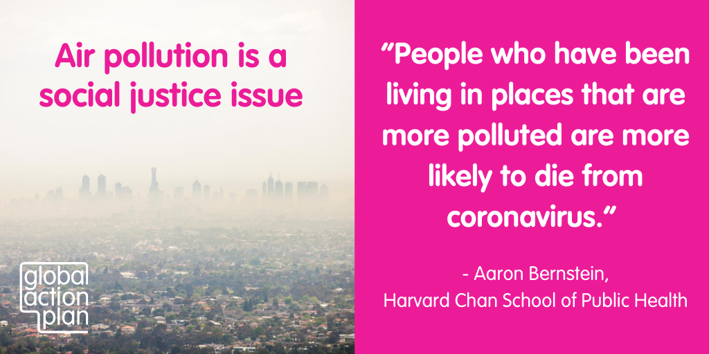 People that have been living in places that are more polluted are more likely to die from coronavirus