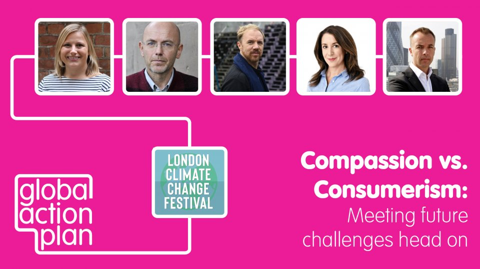Newsletter: Join us at the London Climate Change Festival on 30th March