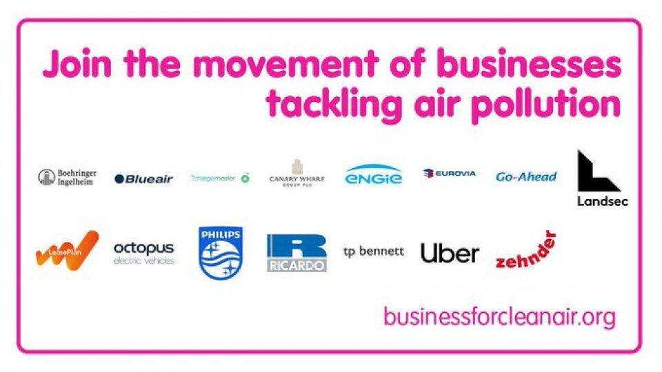 Newsletter: Join the movement of businesses tackling air pollution