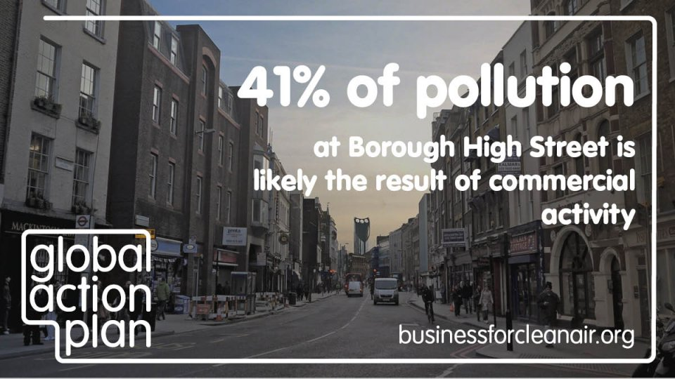 Three quarters of residents in Lambeth & Southwark want businesses to do more to cut pollution and traffic after the lockdown