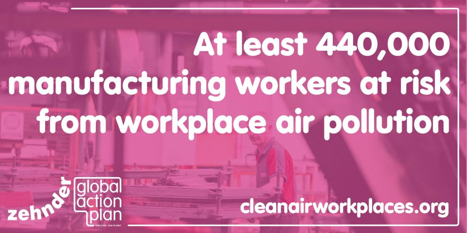 Whitepaper finds manufacturing workers are still being exposed to dangerous levels of air pollutants in the workplace